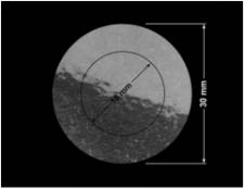 PLOMBA VOID TRANSPARENT POŁYSK OTWARTY OPENED T-54AX2 kółka 2w1 30mm-18mm