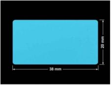 PLOMBA NIEBIESKA MAT VOIDOPEN A-347V3 prostokąt 38x20mm