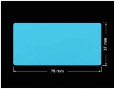 PLOMBA NIEBIESKA MAT VOIDOPEN A-347V3 prostokąt 76x37mm