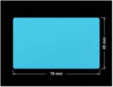 PLOMBA NIEBIESKA MAT VOIDOPEN A-347V3 prostokąt 76x45mm