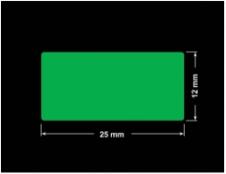 PLOMBA ZIELONA PMS354 MAT VOIDOPEN A-34ZV3 prostokąt 25x12mm
