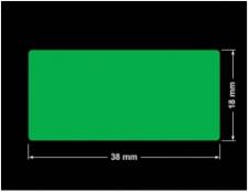PLOMBA ZIELONA PMS354 MAT VOIDOPEN A-34ZV3 prostokąt 38x18mm