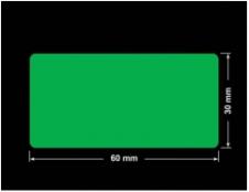 PLOMBA ZIELONA PMS354 MAT VOIDOPEN A-34ZV3 prostokąt 60x30mm