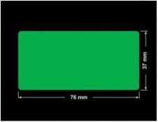 PLOMBA ZIELONA PMS354 MAT VOIDOPEN A-34ZV3 prostokąt 76x37mm