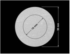 PLOMBA VOID BIAŁA POŁYSK VOID D-36203 kółka 2w1 30mm-18mm