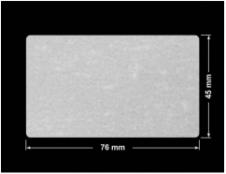 PLOMBA VOID BIAŁA POŁYSK VOID D-36203 prostokąt 76x45mm