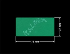PLOMBA ZIELONA MAT VOIDOPEN A-34HV3 prostokąt 76x37mm naklejona na czarnym