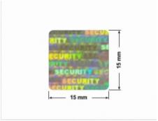 ELASTYCZNA CIEMNO-SREBRNA PÓŁPOŁYSK E-C31 prostokąt 50x20mm