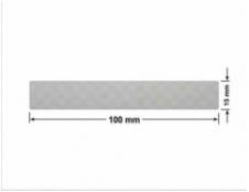 SREBRNA PÓŁPOŁYSK VOID T-34102 prostokąt 120x20mm