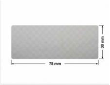 ZIELONE MATOWA VOIDOPEN B-34HV3 prostokąt 22x18mm