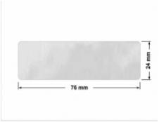 ELASTYCZNA JASNO-SREBRNA PÓŁPOŁYSK E-C11 kółko 15mm