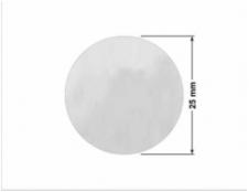 ELASTYCZNA JASNO-SREBRNA PÓŁPOŁYSK E-C11 kwadrat 15x15mm