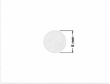 ELASTYCZNA JASNO-SREBRNA PÓŁPOŁYSK E-C11 prostokąt 60x20mm