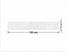 CZERWONA SATYNA VOIDOPEN A-395V3 prostokąt 50x25mm