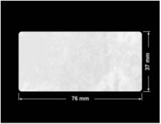 PLOMBA VOID BIAŁA POŁYSK PLASTER MIODU D-45KM prostokąt 76x37mm