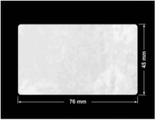 PLOMBA VOID BIAŁA POŁYSK PLASTER MIODU D-45KM prostokąt 76x45mm