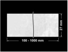 PLOMBA VOID BIAŁA POŁYSK PLASTER MIODU D-45KM banderola 100x27mm