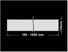 PLOMBA KRUCHA BIAŁA POŁYSK D-202 banderola 100x10mm