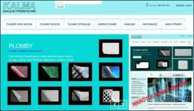 Strona firmowa - naklejki przemysłowe plomby, tabliczki znamionowe naklejki B2B - Kalma